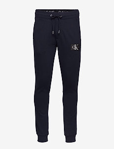 MONOGRAM PATCH HWK PANT - collegehousut - night sky