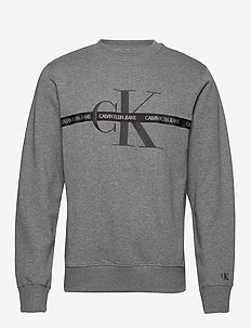 TAPING THROUGH MONOGRAM CN - MID GREY HEATHER