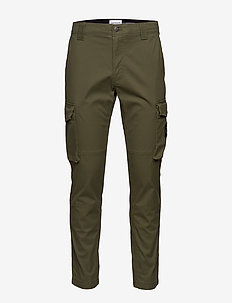 SKINNY WASHED CARGO PANT - cargo pants - deep depths
