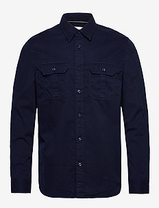 GMD TWILL UTILITY REG SHIRT - basic-hemden - night sky
