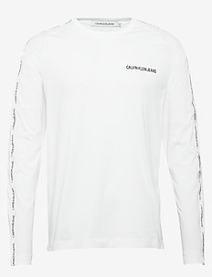 INSTIT TAPE SLIM L/S TEE - langärmelig - bright white