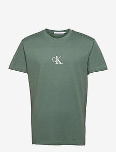 SMALL CHEST MONOGRAM SS - t-shirts basiques - duck green