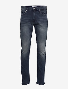 CKJ 026 SLIM - slim jeans - ca034 blue black