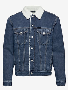SHERPA FOUNDATION DENIM JACKET - CA003 MID BLUE