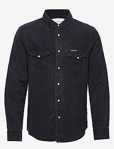 MODERN WESTERN SHIRT - casual overhemden - ca082 blue black