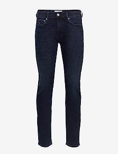 CKJ 026 SLIM - slim jeans - da003 blue black
