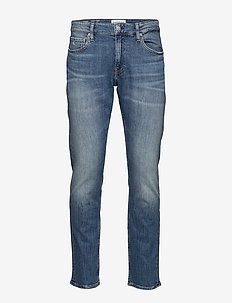 CKJ 026 SLIM - slim jeans - da020 bright blue embroidery