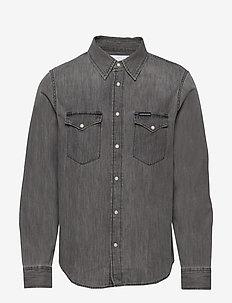 MODERN WESTERN SHIRT - denim overhemden - da039 grey