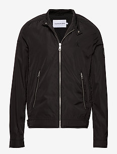 NYLON RACER WITH DETAILS - windjassen - ck black