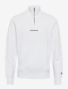 INSTIT CHEST LOGO MO - basic sweatshirts - bright white