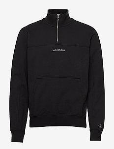 INSTIT CHEST LOGO MO - basic sweatshirts - ck black