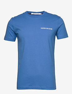 INSTITUTIONAL CHEST LOGO SS TEE - basic t-shirts - meridian blue
