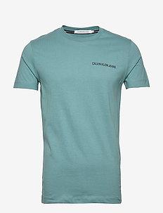 INSTITUTIONAL CHEST LOGO SS TEE - basic t-shirts - vapor green