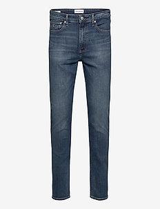 CKJ 058 SLIM TAPER - slim jeans - ab015 mid blue