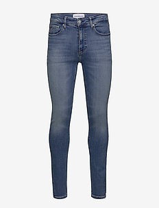 SUPER SKINNY - skinny jeans - ab038 mid blue