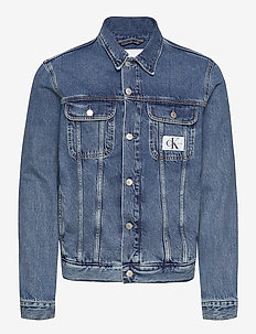 90S DENIM JACKET - farkkutakit - ab076 icn mid blue