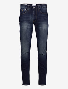 CKJ 058 SLIM TAPER - slim jeans - ab096 dark blue