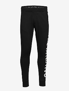 PUFF PRINT HWK PANT - sweatpants - ck black