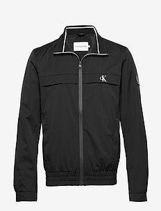 ZIP UP HARRINGTON - windjassen - ck black