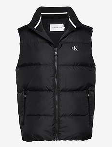 DOWN VEST - liivit - ck black