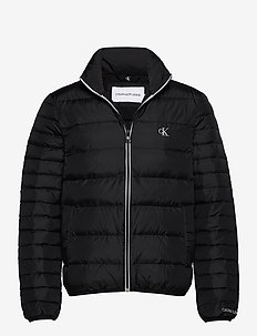 LIGHT DOWN JACKET - donsjassen - ck black