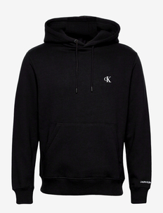 CK ESSENTIAL REGULAR HOODIE - sweats à capuche - ck black