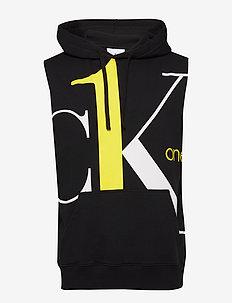 BIG LOGO REGULAR SLEEVELESS HD - basic sweatshirts - black beauty