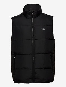 PUFFER VEST - veste - ck black