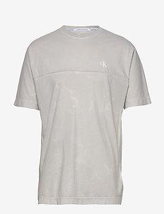 LAVA DYE TEE - short-sleeved t-shirts - antique grey