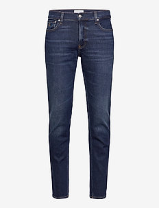 CKJ 035 STRAIGHT - regular jeans - bb209- mid blue brushed