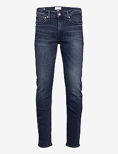 CKJ 058 SLIM TAPER - slim jeans - bb017 - blue black