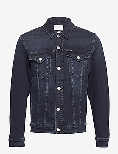 FOUNDATION DENIM JACKET - spijkerjassen - bb066 - blue black
