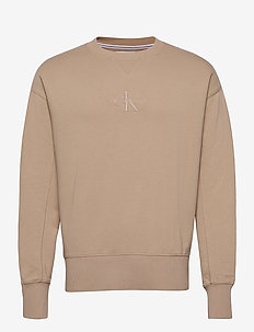 ACID WASH CREW NECK - overdeler - irish cream
