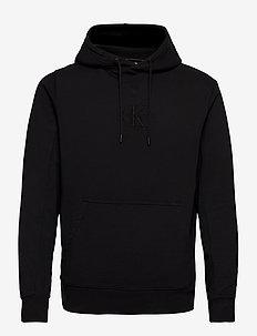 ACID WASH HOODIE - hoodies - ck black