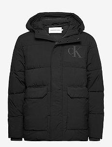 CK ECO JACKET - vestes matelassées - ck black