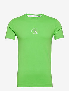 NEW ICONIC ESSENTIAL TEE - t-shirts à manches courtes - acid green