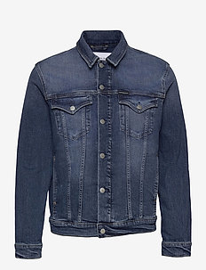 FOUNDATION JACKET - farkkutakit - denim dark