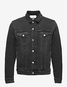 FOUNDATION JACKET - farkkutakit - denim black