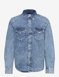 MODERN WESTERN SHIRT - basic skjortor - denim light