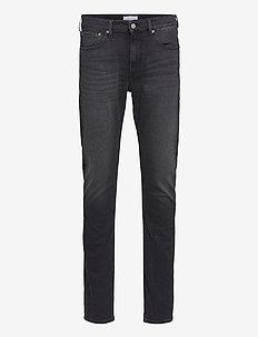 SLIM TAPER - slim jeans - denim black