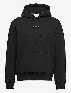 MICRO BRANDING HOODIE - sweats à capuche - ck black