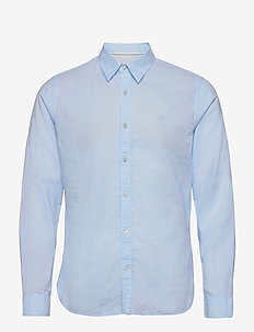 LINEN LS SHIRT - chemises basiques - chambray blue