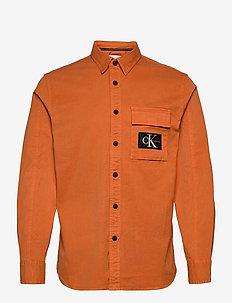 GMD SHIRT - podstawowe koszulki - rusty orange