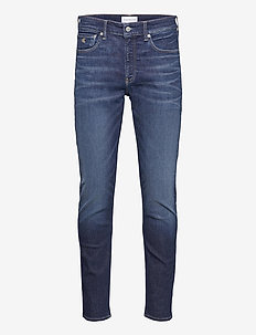 SLIM TAPER - slim jeans - denim dark
