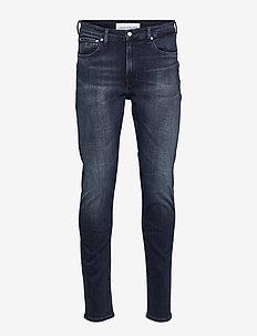 SLIM TAPER - slim jeans - denim dark