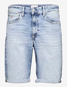 REGULAR SHORT - denim shorts - denim light