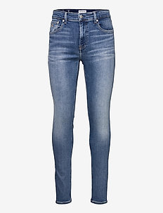 SUPER SKINNY - skinny jeans - denim light