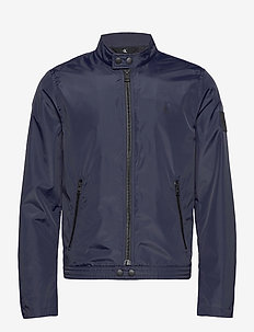 NYLON BIKER JACKET - kevyet takit - night sky