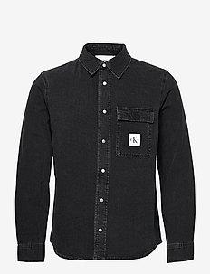 SKATE SHIRT - peruspaitoja - denim black