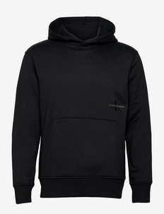 OFF PLACED ICONIC HOODIE - sweats à capuche - ck black